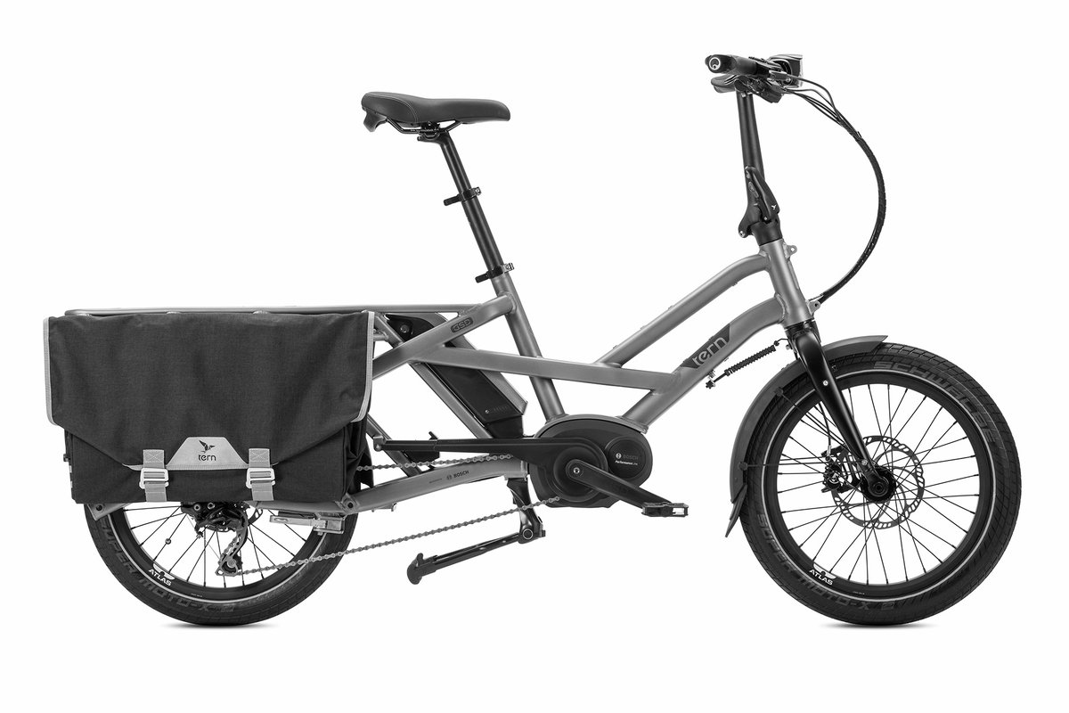 Foldable cargo bike