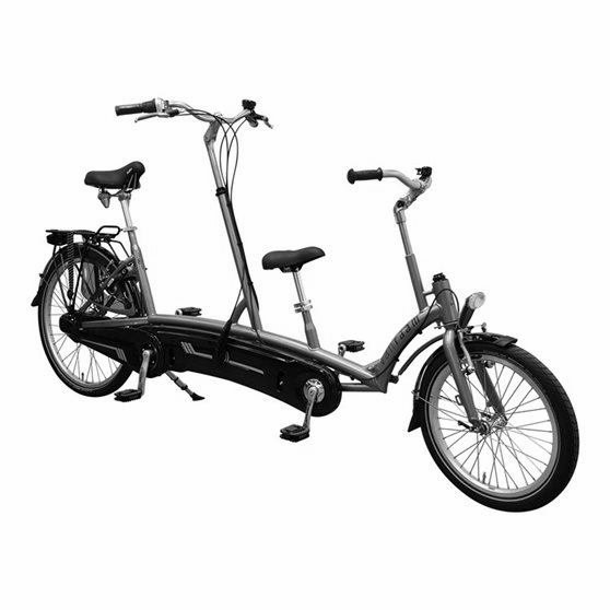 Tandem for adult and kid
